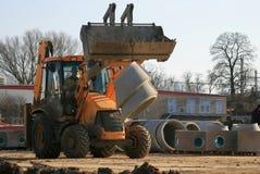 1 трубопровод нагрузки землечерпалки стоковая фотография rf