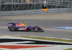 1 участвовать в гонке f автомобиля Стоковые Изображения