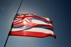 1 флаг Гавайские островы Стоковое Изображение