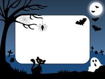 1 фото halloween кадра Стоковое Изображение