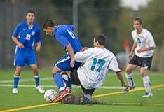 1 футбол средней школы Стоковое Изображение RF