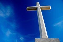 1 христианский крест Стоковая Фотография
