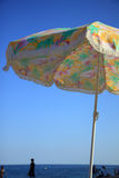 1 цветастый парасоль Стоковая Фотография
