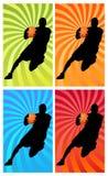 1 цвет баскетбола Стоковая Фотография RF