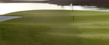 1 часть гольфа Дубай курса Стоковое Фото