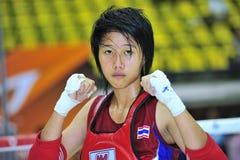 1-ые азиатские игры 2009 боевых искусств Стоковое Фото