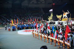 1-ые 2009 Азиатских игр искусств военных Стоковая Фотография RF