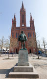 1-ый принц wilhelm marktkirche Стоковая Фотография RF
