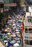 1-ый 2009 протестов kong hong июля Стоковая Фотография