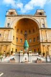 1-ый rom vatican pigna fontana della столетия объявления Стоковые Изображения RF