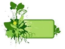 1 экологическая виньетка Стоковое Изображение