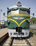 1 электрический старый поезд Стоковое Фото