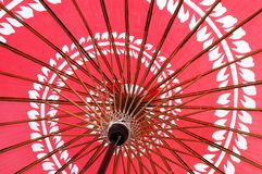 1 японский зонтик Стоковые Фотографии RF