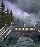 1个桥梁幻想 免版税库存照片