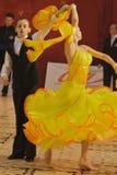 1 12 13场比赛舞蹈开放标准 免版税库存照片