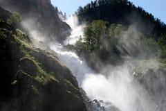 1瀑布 图库摄影