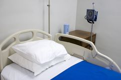 1 стационар кровати Стоковая Фотография