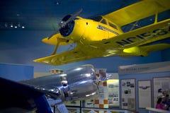 1 17个航空器山毛榉h休斯模型staggerwing 库存照片