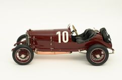 1 18 1924 targa mercedes florio Стоковые Фотографии RF