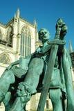 1个康斯坦丁皇帝 库存照片