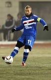 1 2 το sampdoria εναντίον Στοκ φωτογραφία με δικαίωμα ελεύθερης χρήσης