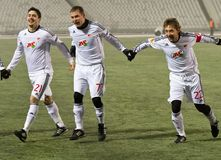 1 2 το sampdoria εναντίον Στοκ Φωτογραφία