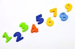 1 2 3 4 5 6 7 8 9个编号 免版税库存图片