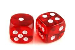 1 2 4 dice показывать Стоковое фото RF