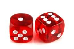 (1) 2 6 kostka do gry pokazywać obrazy royalty free