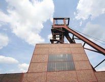 1 2 8 szybu kopalni zollverein zdjęcie stock