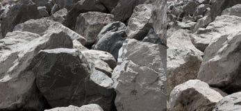 1 2 rocks Arkivfoton