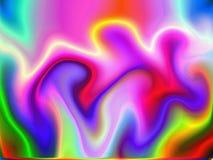 1 2 tło abstraktów uzyskiwanych Fotografia Stock