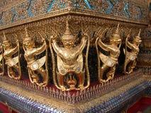 1个菩萨绿宝石寺庙 库存照片
