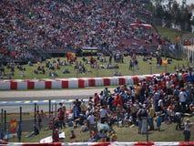 1 2008 Grand Prix τύπου catalunya Στοκ εικόνες με δικαίωμα ελεύθερης χρήσης