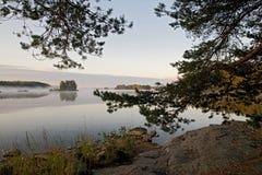 1 2009 finland saima Arkivbilder
