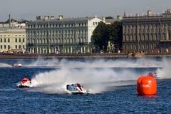 1 2009 värld för mästerskapformelpowerboat Royaltyfria Bilder
