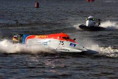 1 2009 värld för mästerskapformelpowerboat Arkivbilder