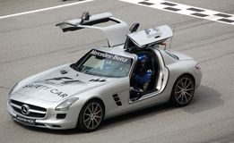 1 2010 sepang безопасности формулы автомобиля Стоковое Изображение RF
