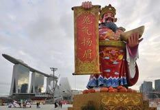 1 2011 feb hongbaoflod singapore Fotografering för Bildbyråer