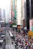 (1) 2011 Hong Lipiec kong marszów Fotografia Stock