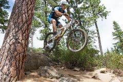 1 2012 серии гонки Орегона enduro загиба Стоковое фото RF