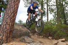 1 2012 серии гонки Орегона enduro загиба Стоковая Фотография