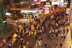 (1) 2012 Hong Lipiec kong marszów Obrazy Stock