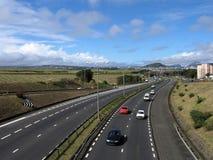 1条高速公路 库存图片