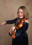 1位古典小提琴手 免版税库存图片