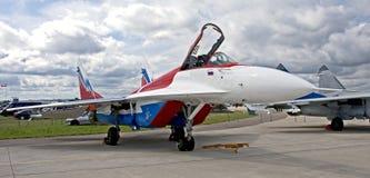 (1) 29 wojowników mig samolot Zdjęcia Stock