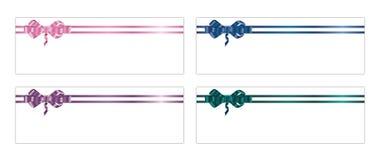1 3条弓丝带 免版税库存照片