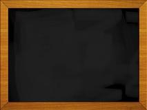 1 3黑色黑板董事会学校 库存照片