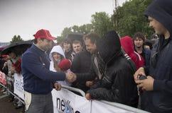 1 3 2012 eedc minsk -го Беларуси июнь круглый Стоковое Изображение RF