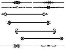 1 вектор рассекателя Стоковые Фото